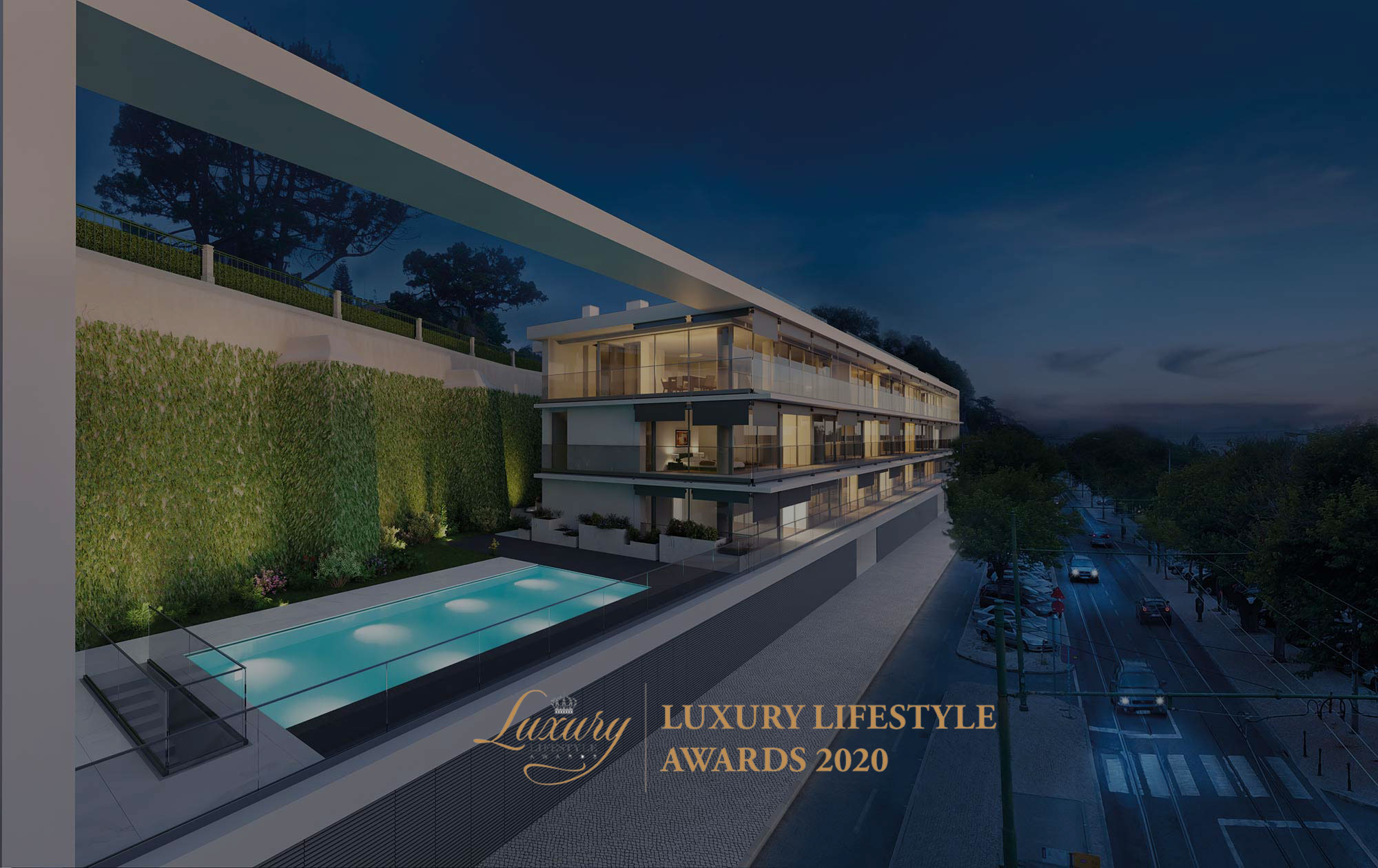 "Dafundo by VOGUE HOMES premiado no Luxury Lifestyle Awards 2020 na categoria ""The Best Luxury Real Estates in Lisbon"""